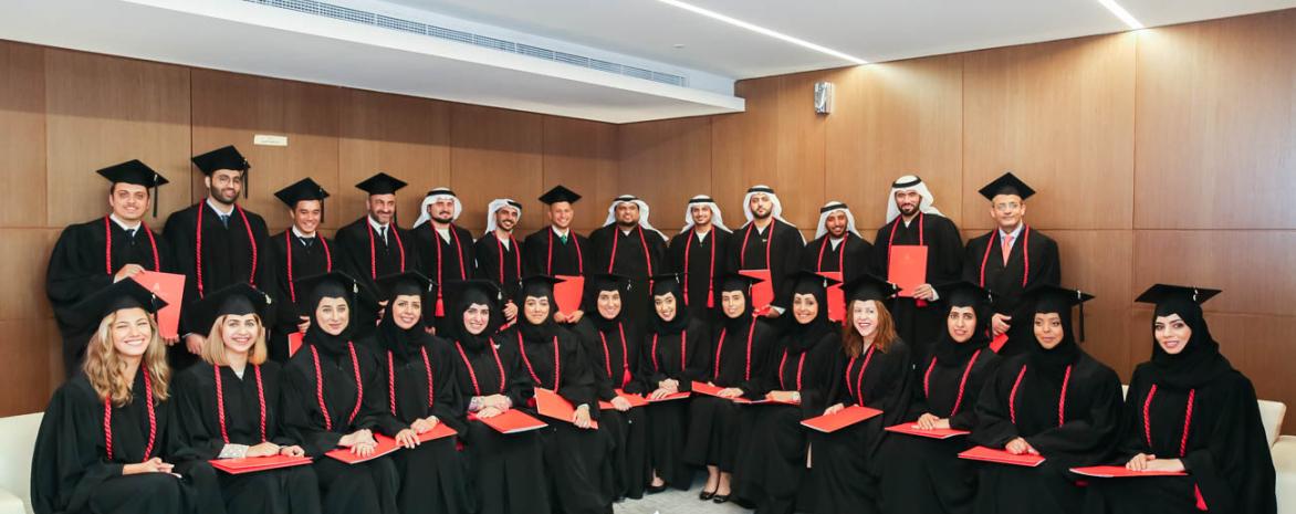 Remise des diplômes du LL.M. International Business Law - Campus de Dubaï