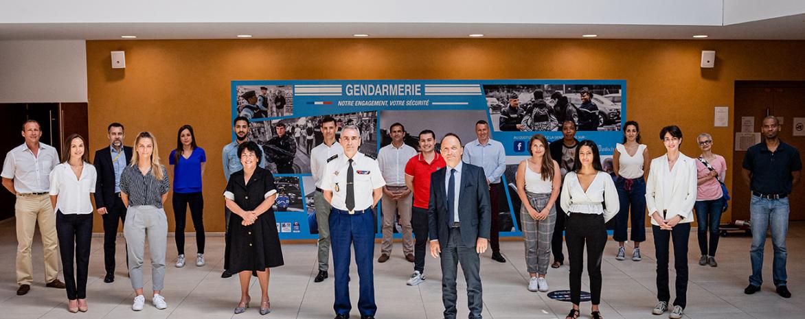 Rencontre avec la direction des personnels militaires de la Gendarmerie nationale