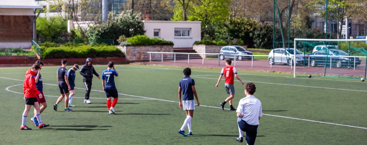Football à l'université Paris 2