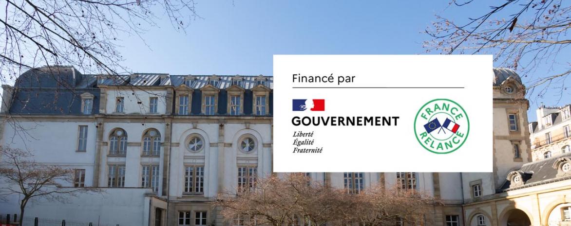"""Le batiment Vaugirard1 bénéficie du plan de relance """"france-relance"""""""
