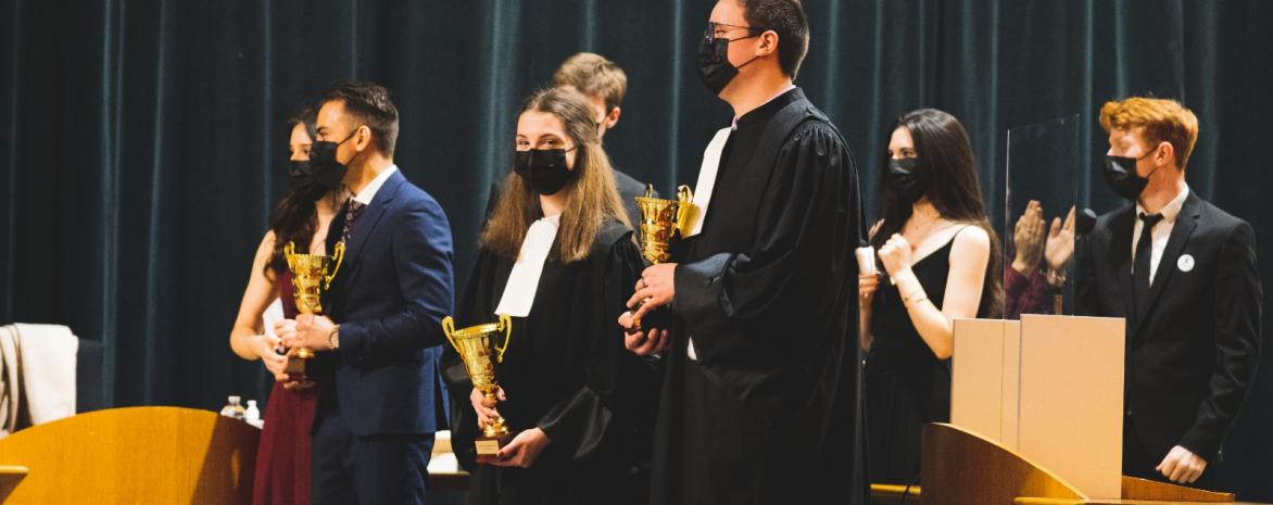 Les 3 lauréats du concours lysias reçoivent leur prix