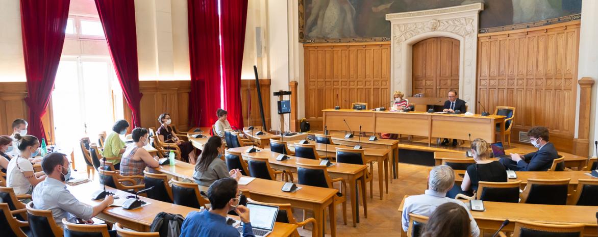 Réunion de la commission des droits, 16 juin 2021