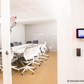 Les espaces de travail en commun, partie intégrante du learning center d'Assas, 2016.