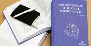 Annuaire français des relations internationales 2020