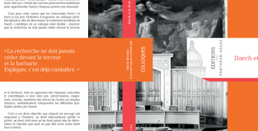 Couverture du livre Daech et le droit