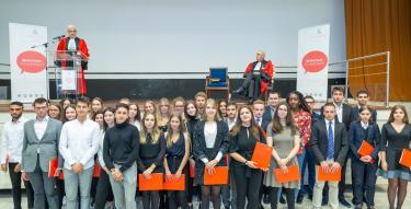 Lauréats lors de la rentrée solennelle 2019