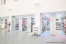 Bibliothèque d'Assas, université Paris 2 Panthéon-Assas, étagères