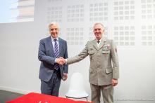 Signature de la convention de partenariat entre l'EMSST et Paris 2