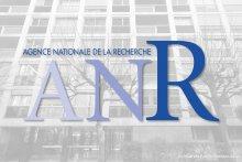 Visuel de la façade du CARISM avec le logo de l'ANR