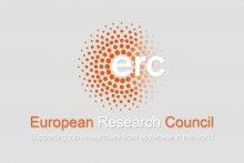 Illustration avec le logo ERC, European Research Conuncil