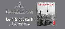 Sortie du magazine Panthéon-Assas n°5