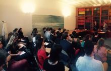 Photo de la rencontre du 15 juin 2017 organisée par l