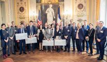Photo de groupe de la remise des prix2018 Jones Day