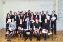 Photo des lauréats du Prix de thèse 2017 de l