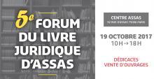 5eme forum du livre juridique au centre Assas