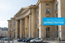 Visuel du Panthéon pour recrutement Administratifs