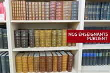 Visuel rayonnage bibliothèque pour nos enseignants publient