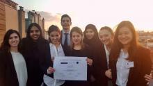 Photo des étudiants participants au concours JESSUP 2017