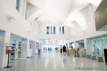 Photo de la bibliothèque du centre Assas