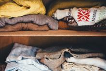 Image illsutrant la collecte de vêtements chauds