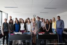 Les étudiants français et allemands du programme BerMuPa (coopération Paris II – LMU)