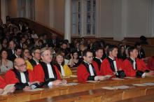 2010 professeurs lors des Prix de l