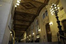 Photo du hall du Centre Panthéon Amphi 4