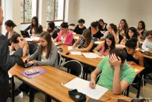 Photo d'un cours à l'IDC