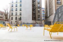 Photo de la cour Notre Dame des Champs du centre Assas