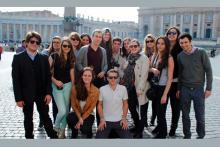 Les étudiants du M2 Criminologie en voyage à Rome