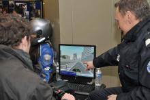 Simulateur moto