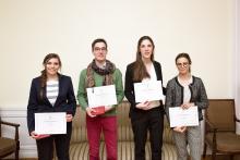 Les 4 finalistes du concours de plaidoirie 2016