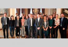 Voyage d'étude à la Haye de l