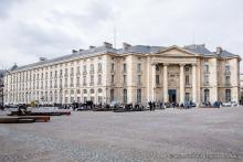 Façade du site du Panthéon.