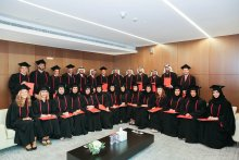 Remise des diplômes du LL.M. International Business Law - Campus de Dubaï