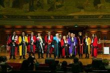 Doctorat honoris causa 2021 - Les récipiendaires et leurs parrains