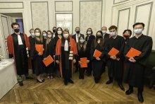 Remise de diplômes du master Conseil et recherche en organisation