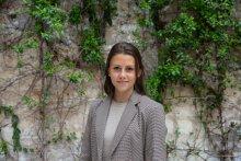 Adèle Dekker représentante élue des étudiants du centre Melun