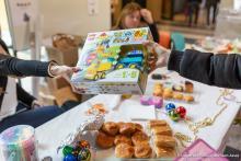 Collecte de jouets neufs et de dons © Université Paris 2 Panthéon-Assas