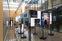 Exposition commémorative des attentats du 11 septembre au centre Assas