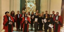 Les étudiants mis à l'honneur lors de la remise des certificats du programme Juriste européen