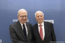 Élection d'Emmanuel DECAUX-OSCE